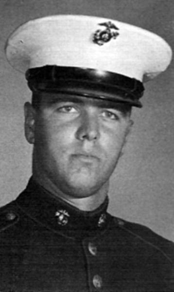 Virtual Vietnam Veterans Wall of Faces   JOHN R BURKE   MARINE CORPS